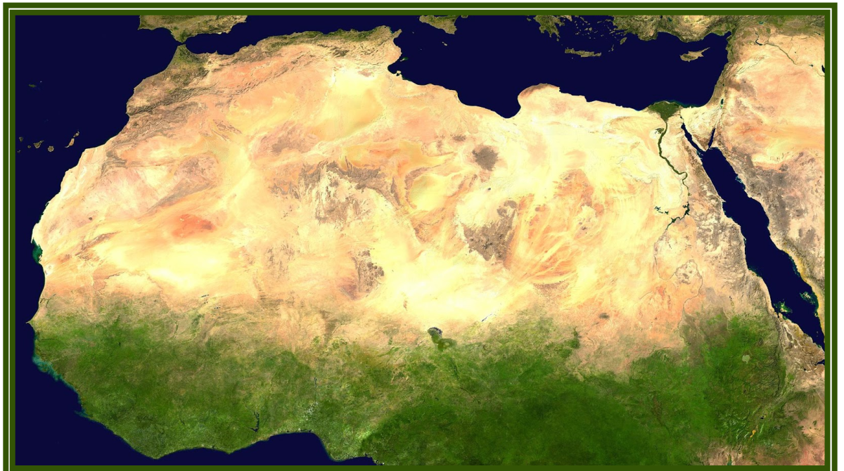 At the end of the last Ice Age, the Sahara Desert was just as dry and uninviting as it is today. But sandwiched between two periods of extreme dryness were a few millennia of plentiful rainfall and lush vegetation.