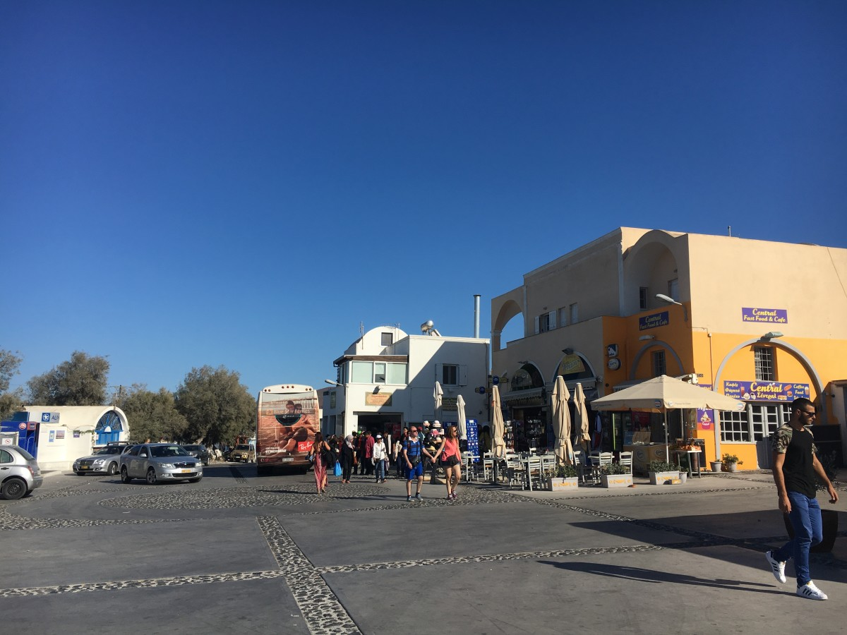 Oia Bus Terminal