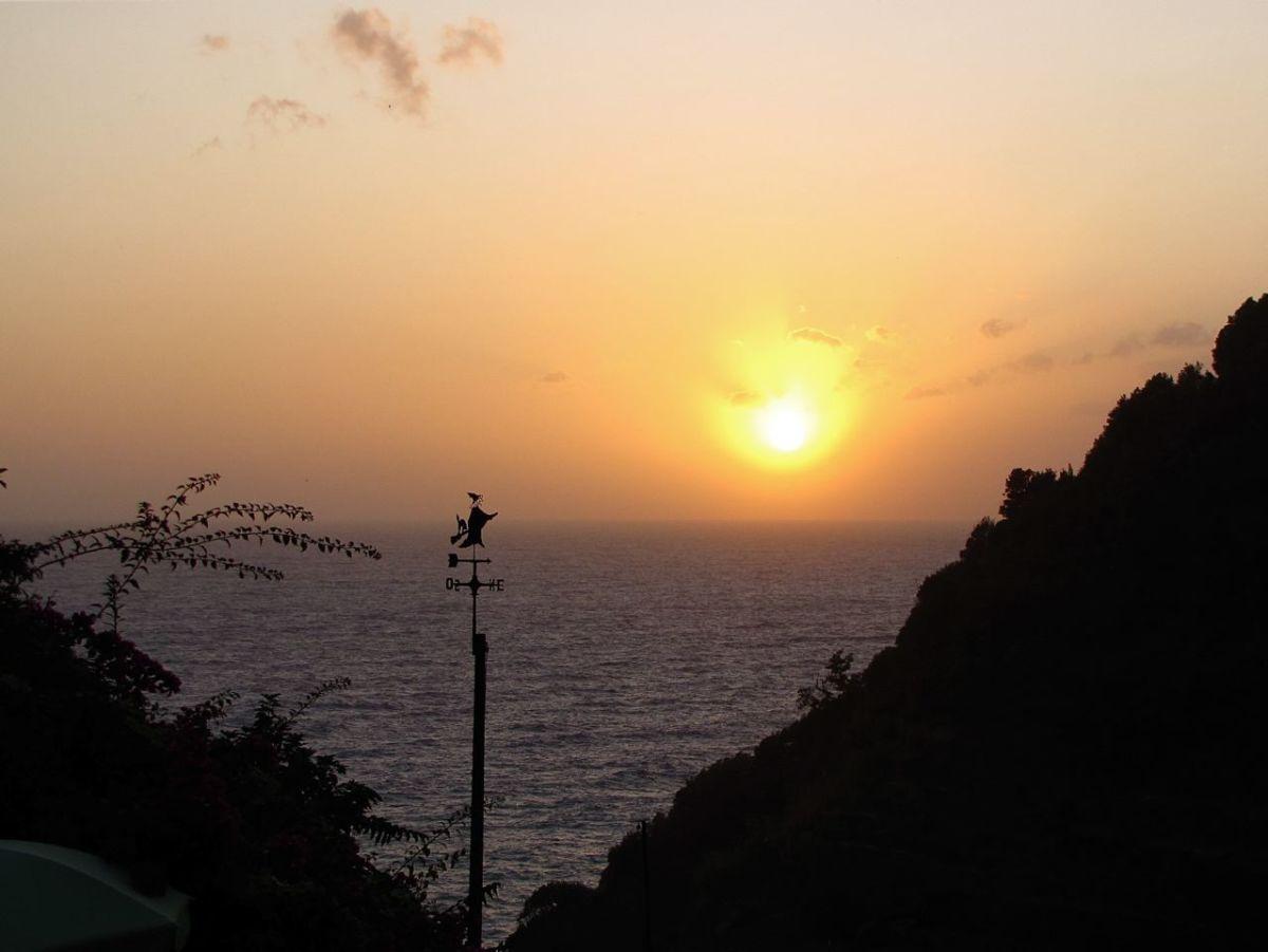 A Cinque Terre sunset