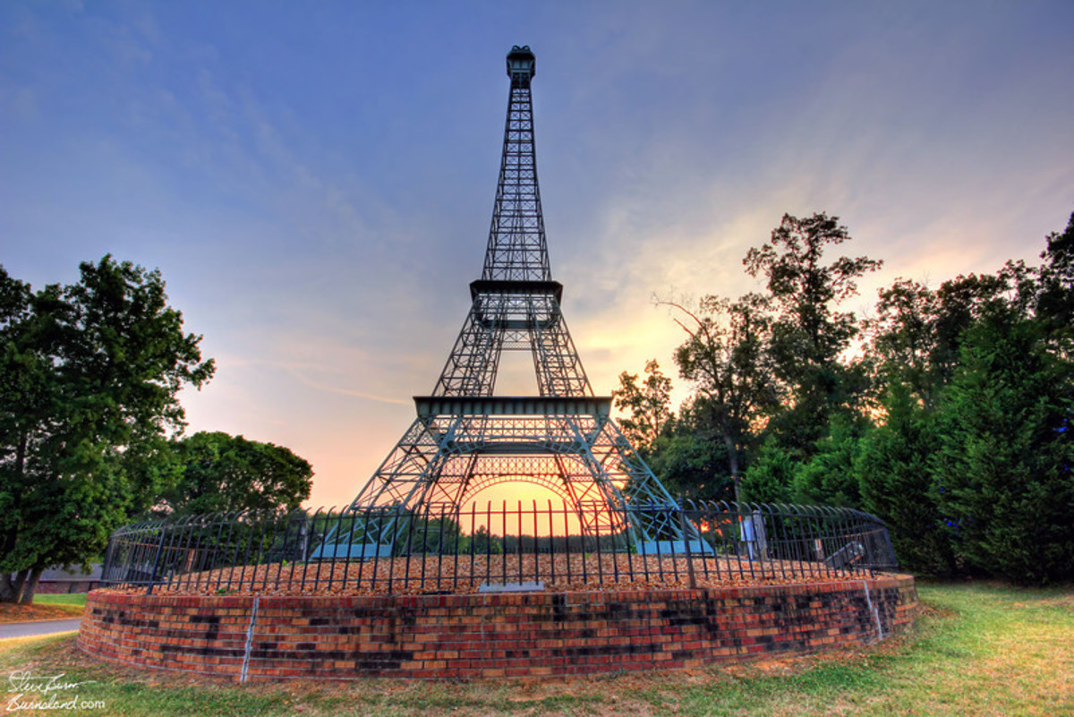 Eiffel Tower of Paris, Tennessee