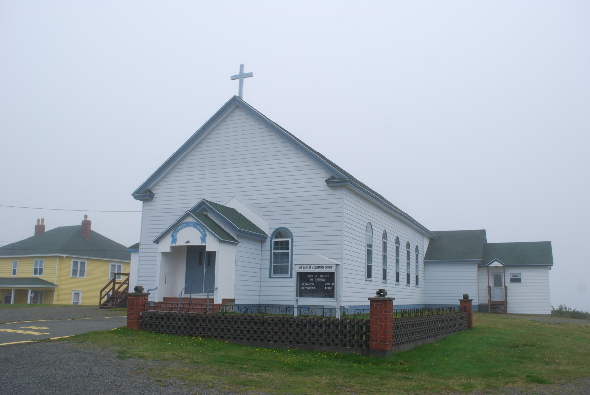 Our Lady of Assumption Church, St. Mary's, Newfoundland and Labrador
