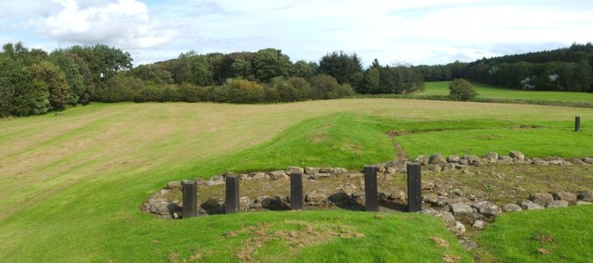 Site of Roman fortlet at Kinneil