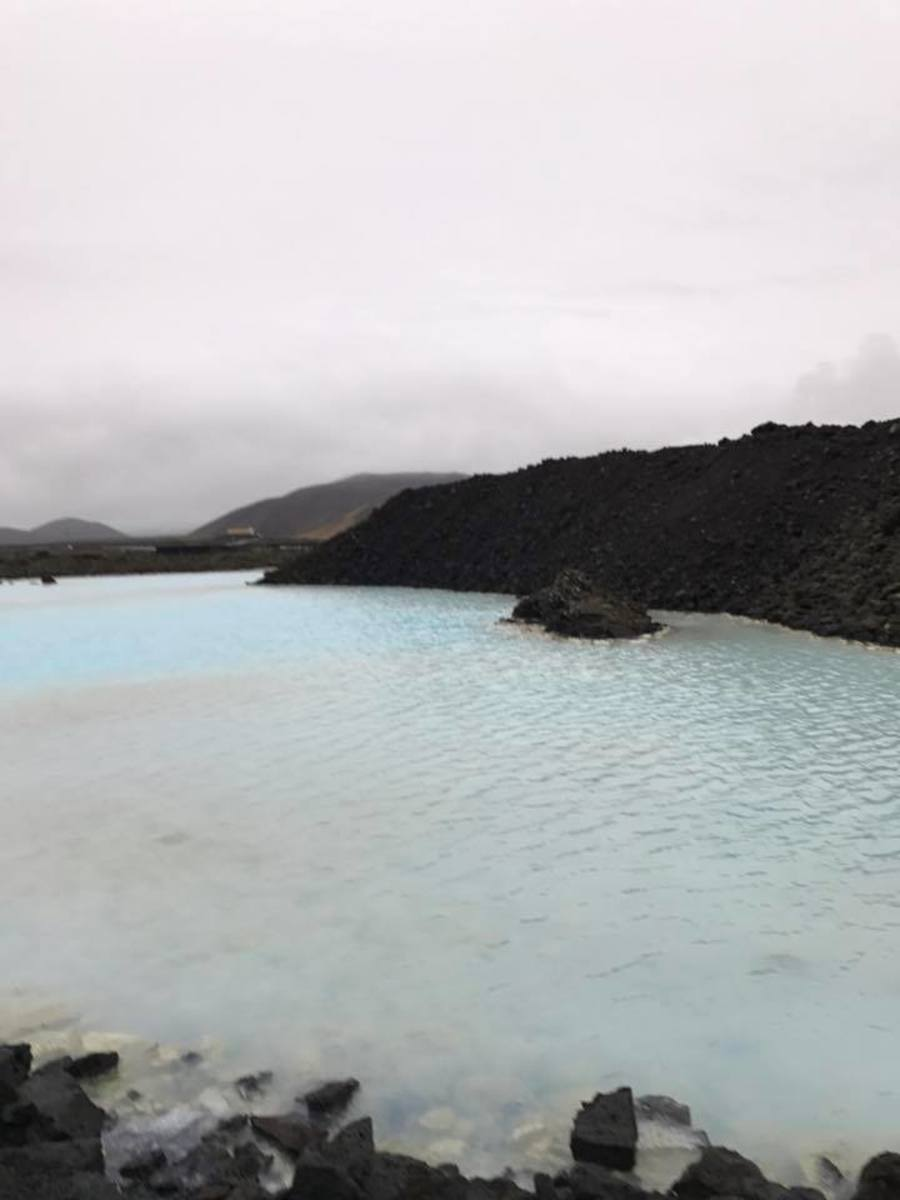 The Blue Lagoon pathway has many smaller pools along the path for picture opportunities, as swimmers are not allowed in them.