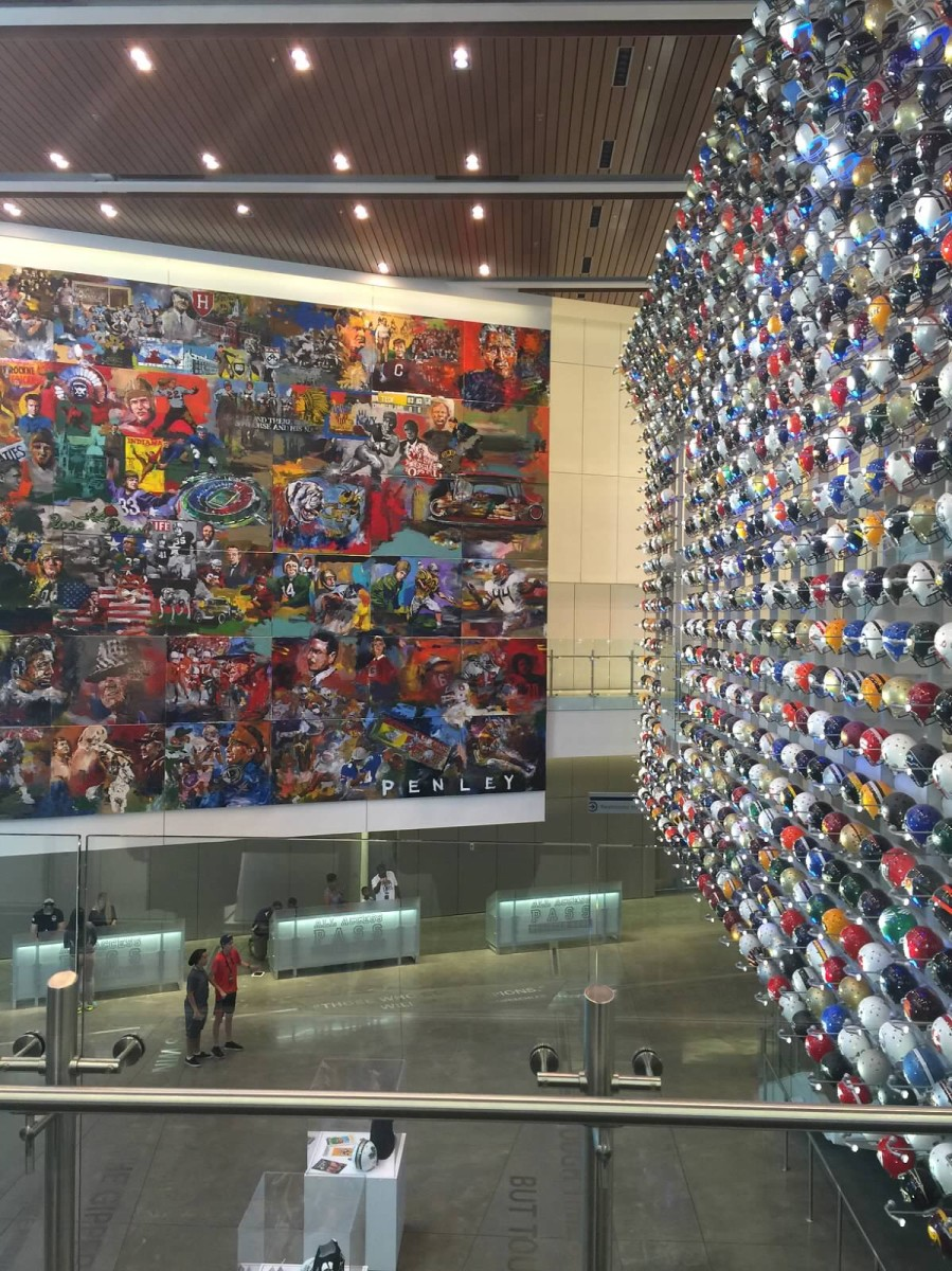 Entrance to College Football Hall of Fame