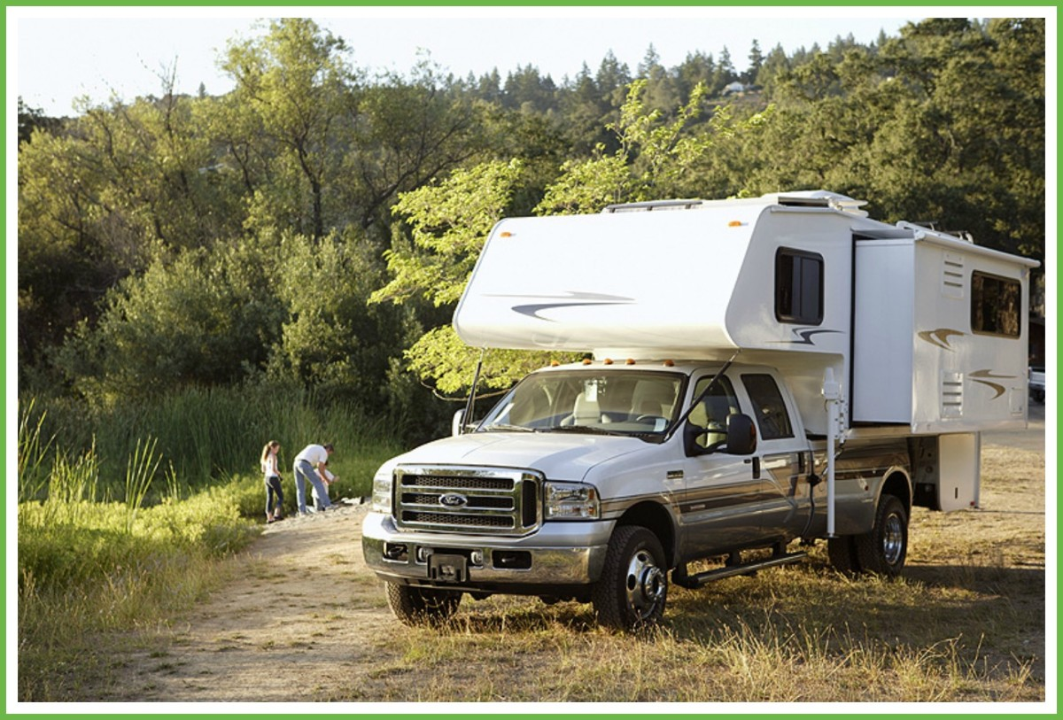 The small size of truck campers allows them the flexibility to go just about anywhere but it also can make them claustrophobic for travelers.