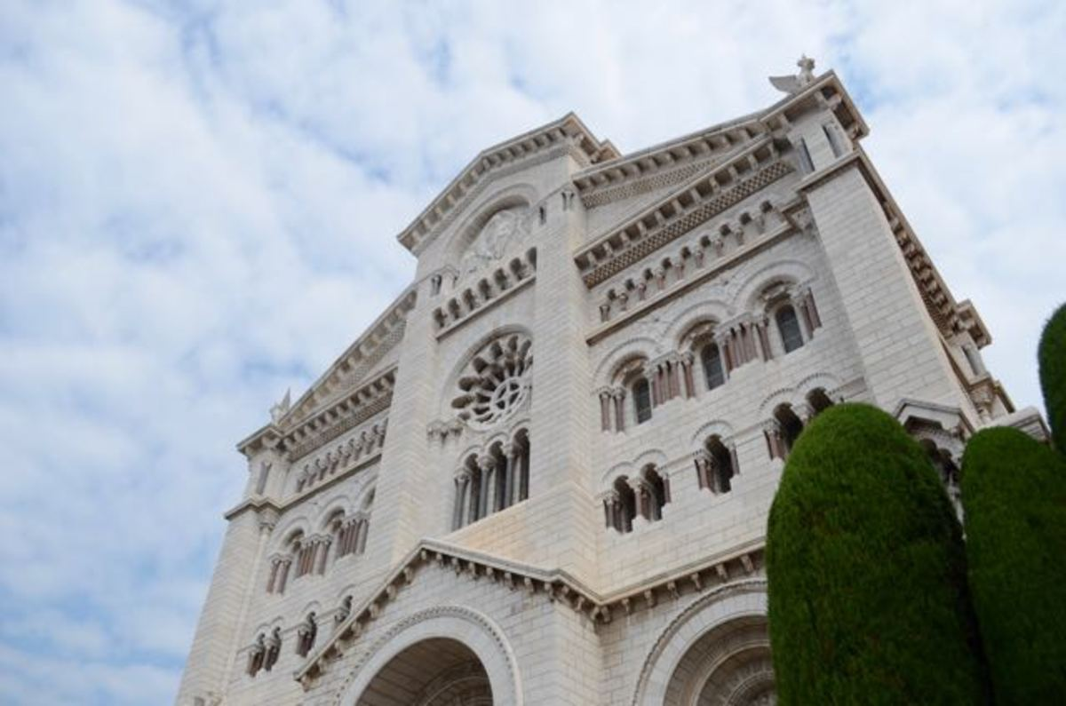 Monaco Cathedral (c) A. Harrison