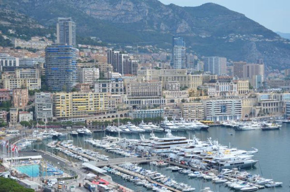 View over Monaco (c) A. Harrison