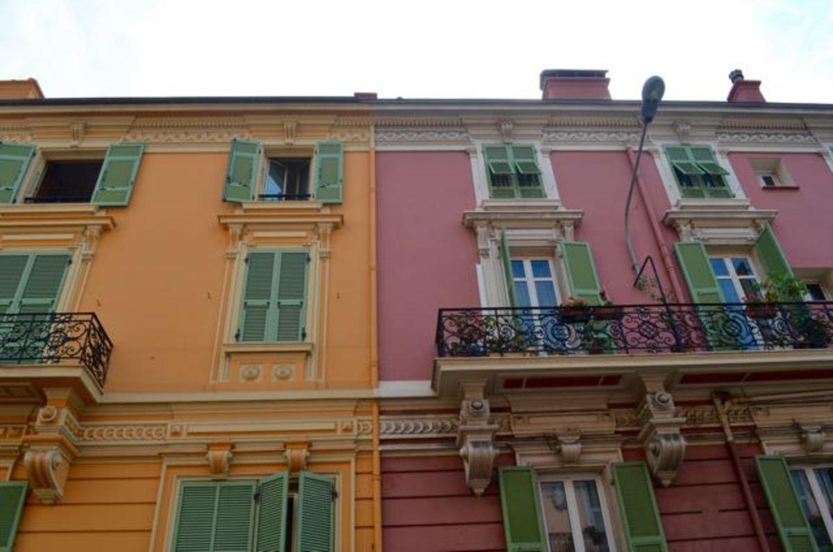 The beautiful houses of Monaco-Ville (c) A. Harrison