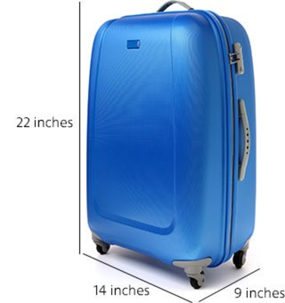 A standard-sized carry on bag will fit in the overhead bins just fine.