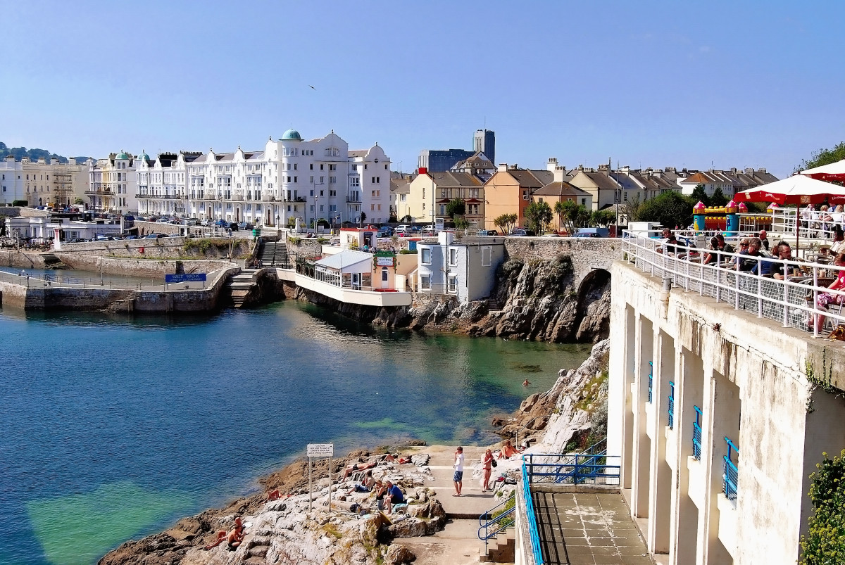 Although Plymouth is not renowned for beaches, it  does offer places where swimming is possible