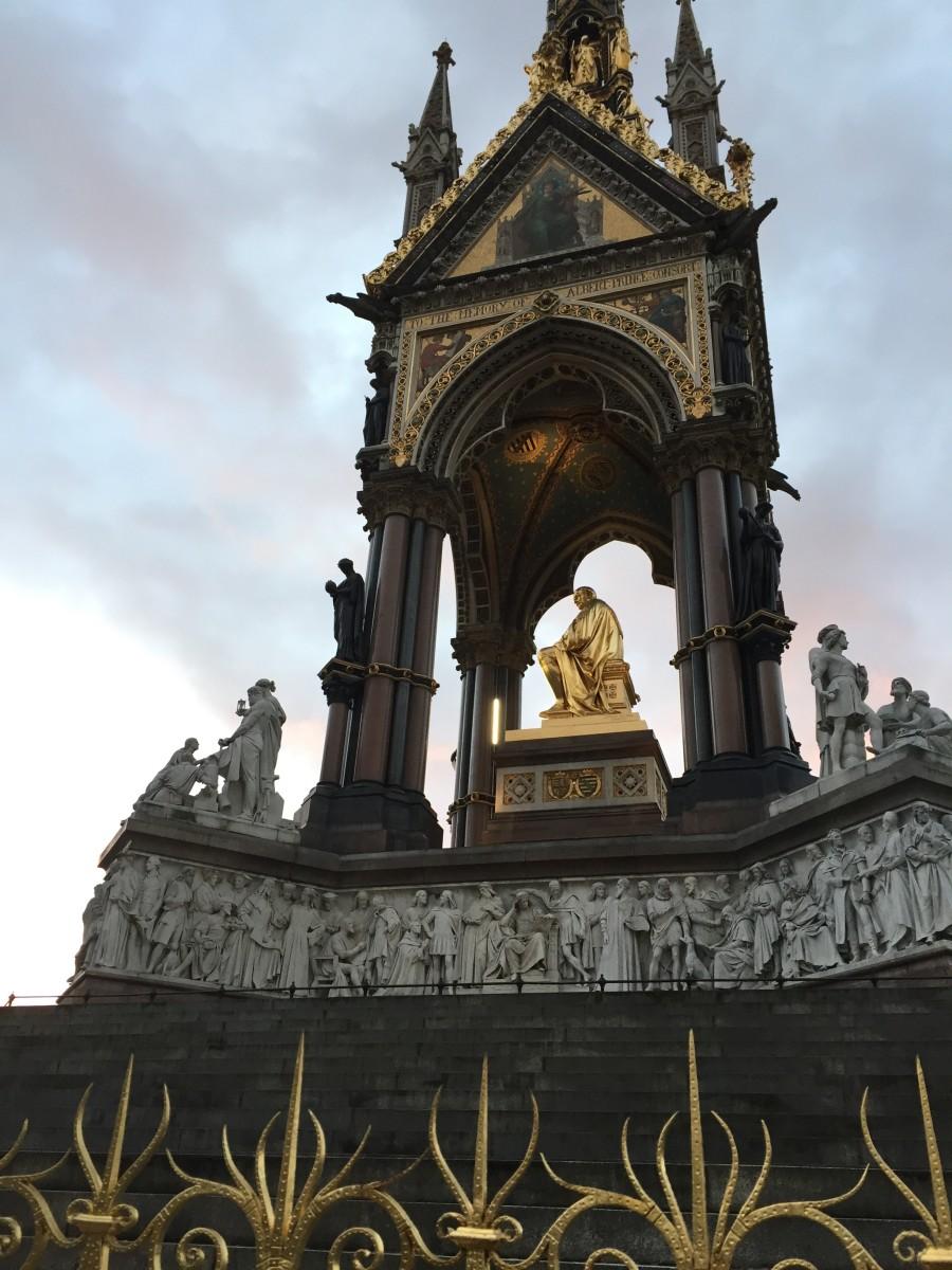 The Albert Memorial, Kensington Gardens