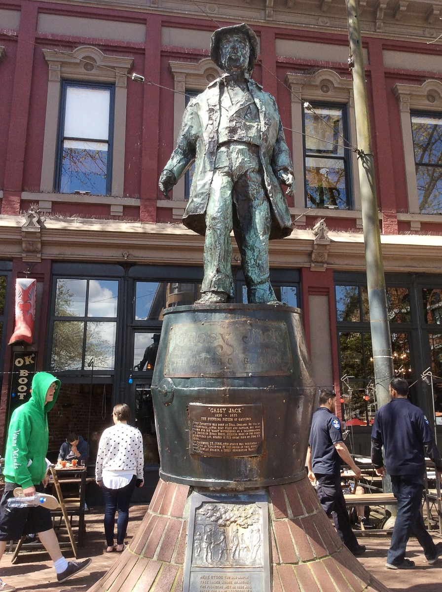 The Gassy Jack sculpture in Gastown