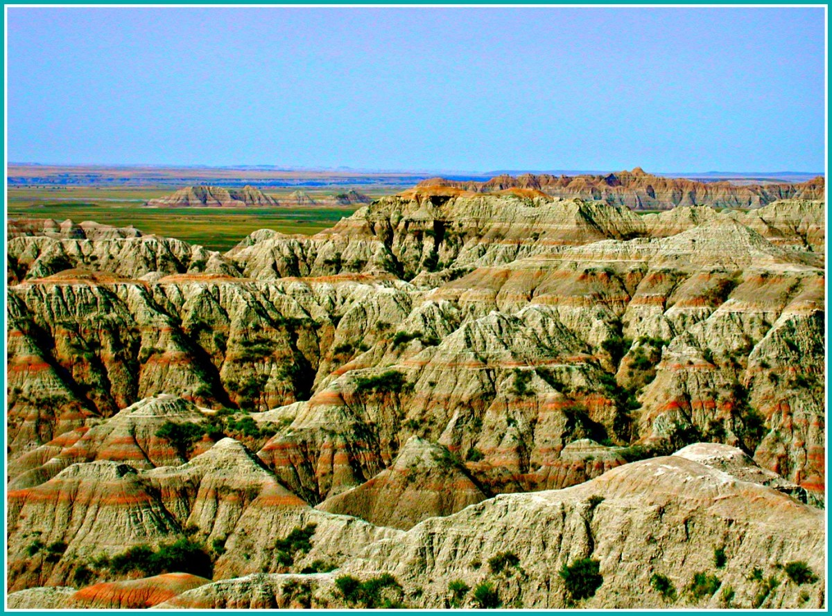 The drive through the Badlands National Park will live you awestruck.