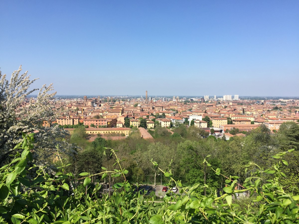 View from San Michele in Bosco, Bologna