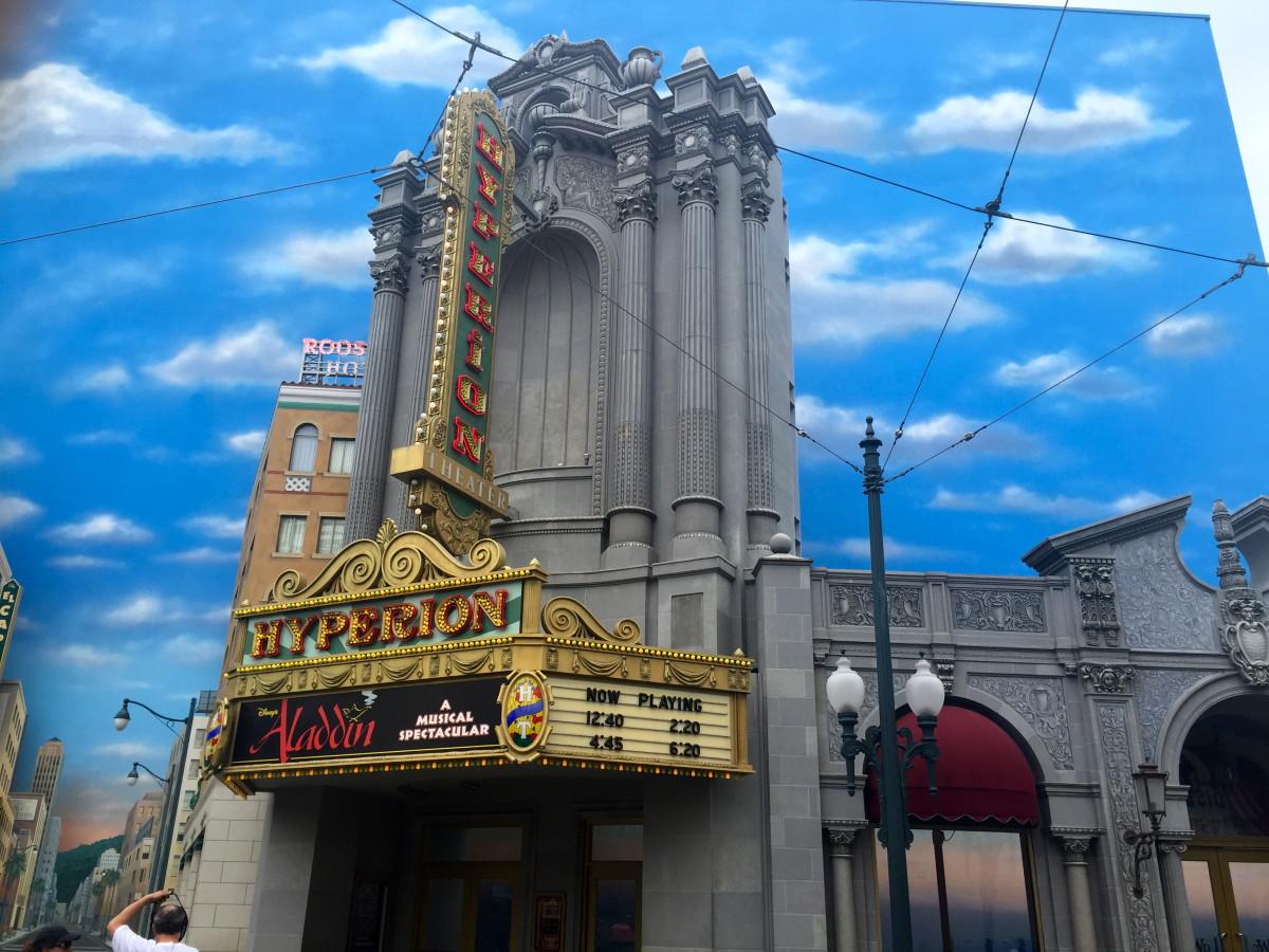 The Hyperion Theatre in California Adventure.