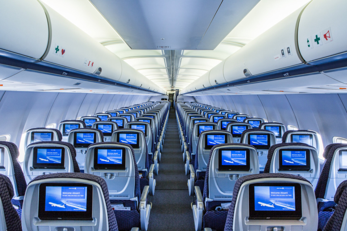 Planes with in-flight entertainment will typically have screens mounted on the seats as shown.  They offer a wide variety of options to help you stay entertained.