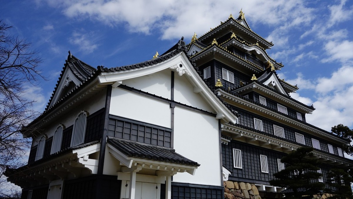 If you're not great with slopes and steps, minimize the climb by only visiting Japanese castles built on flat land. Such as Okayama Castle (shown above) and Matsumoto Castle.