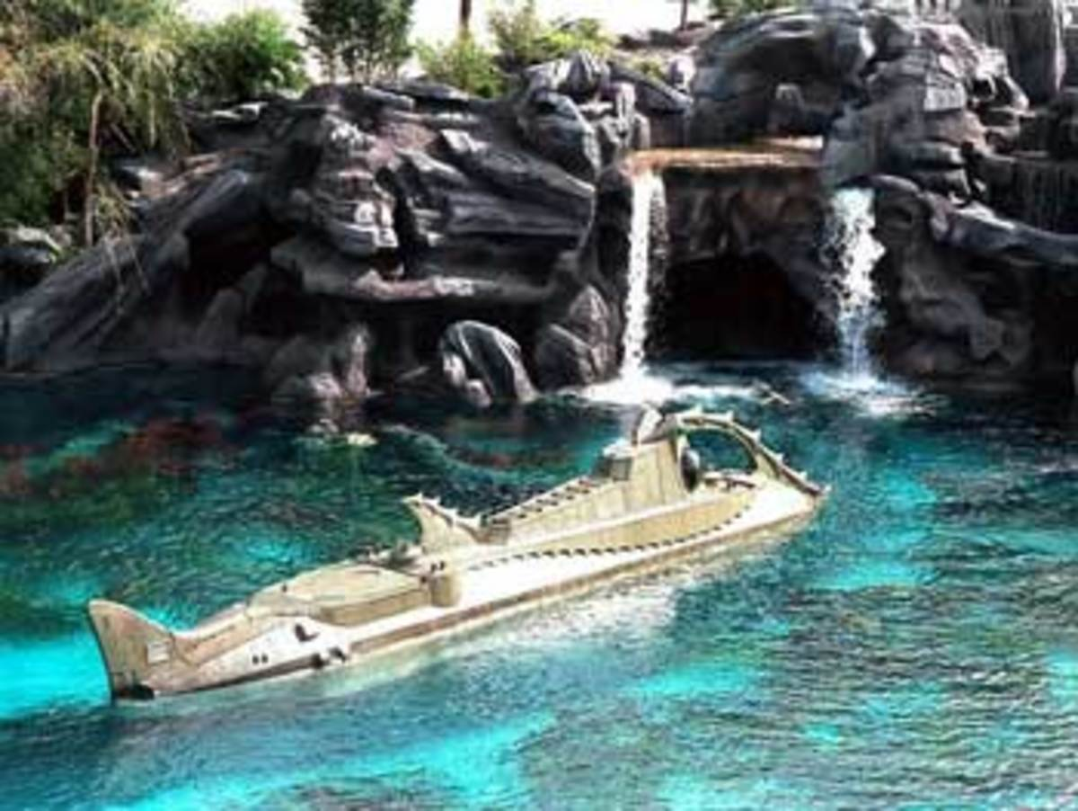 20,000 Leagues Under the Sea: Submarine Voyage