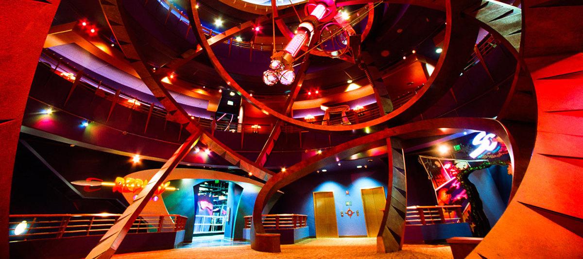 Inside DisneyQuest