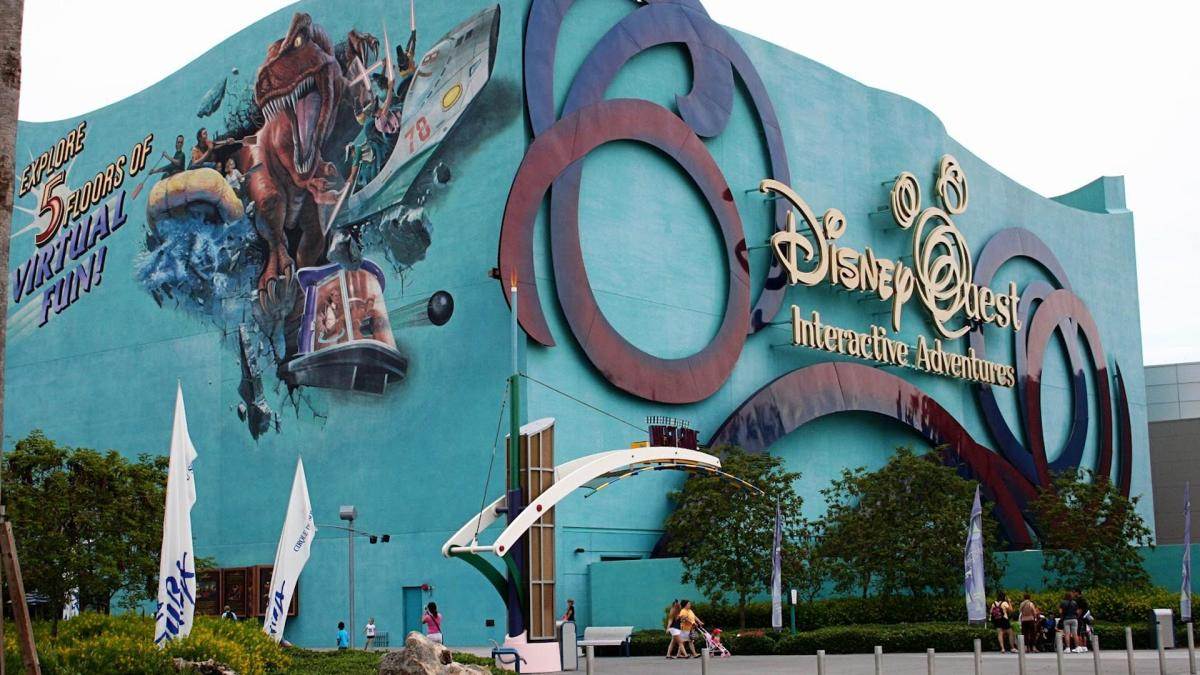 Outside DisneyQuest