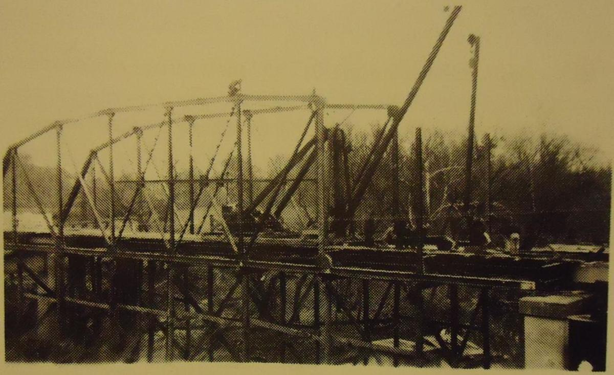 The Bridge under construction