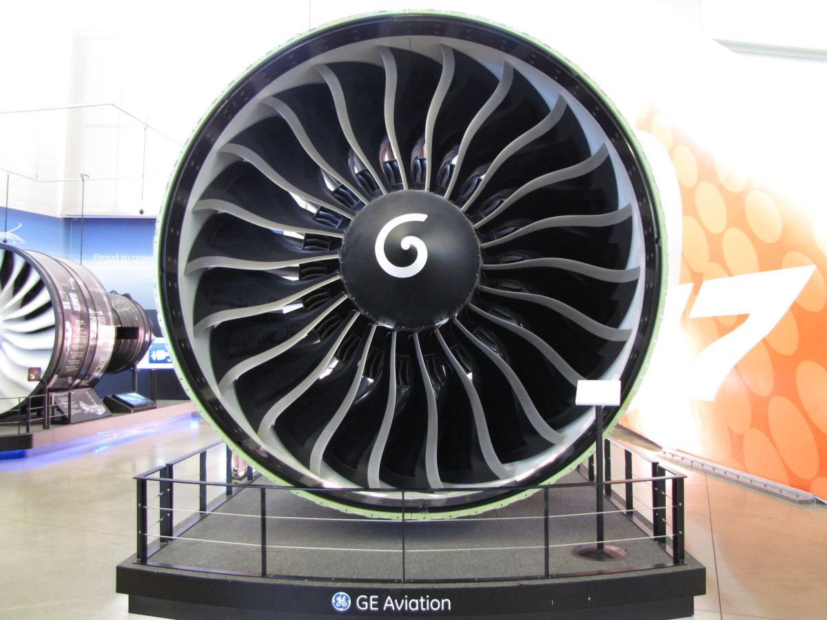 GE engine for the Boeing 787 Dreamliner