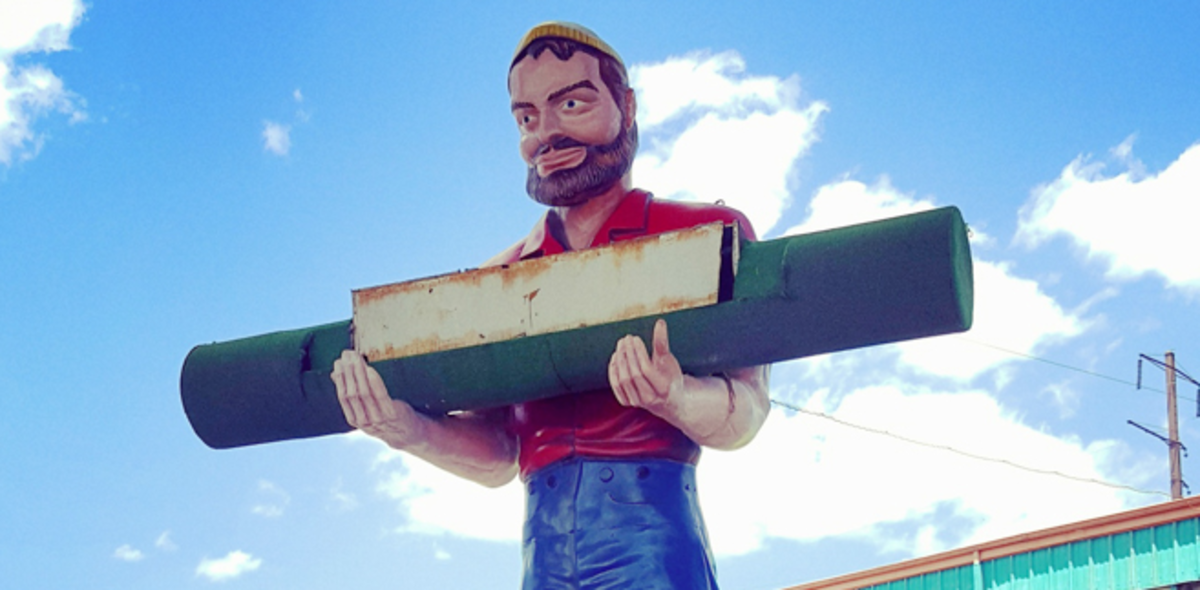 Jersey's Carpet Muffler Man