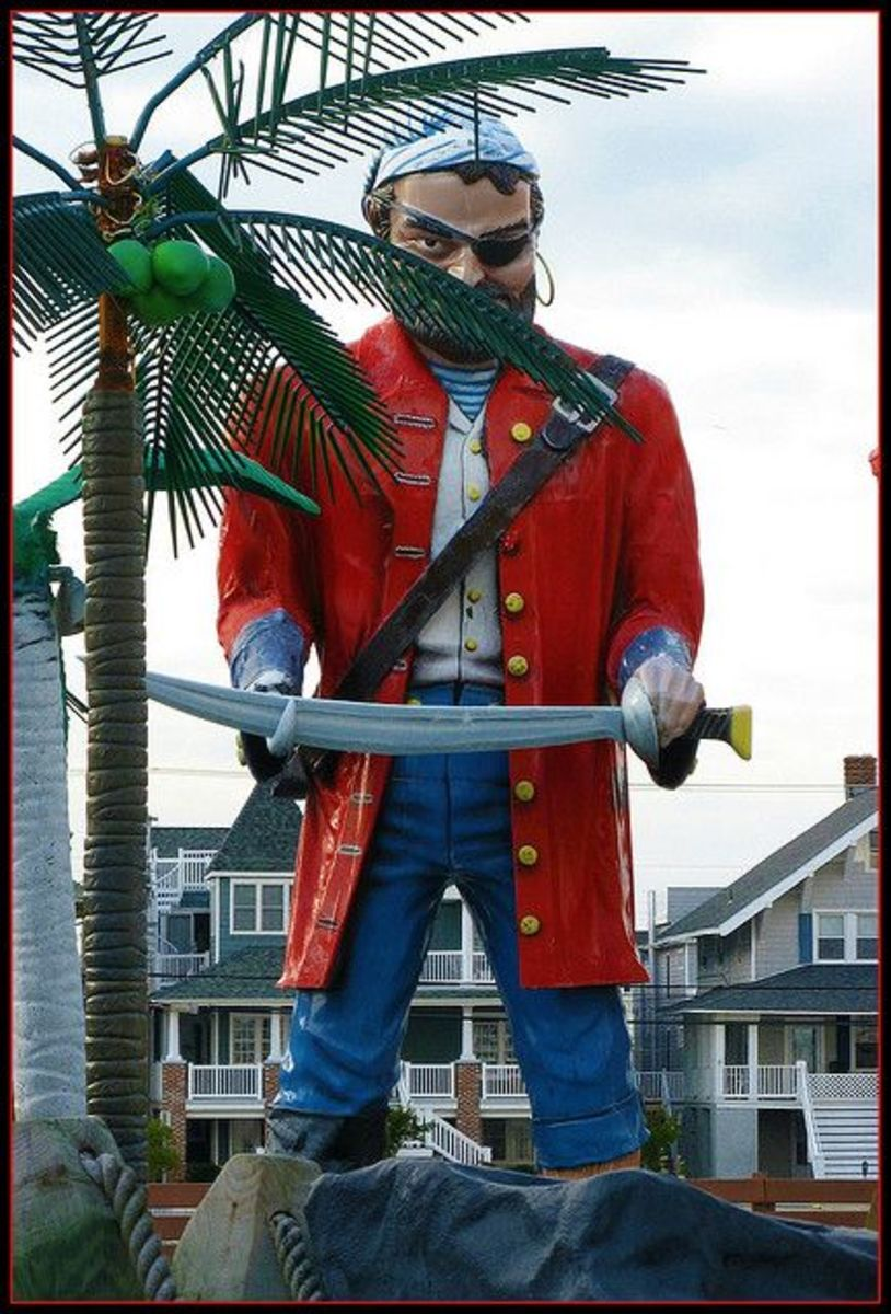 The Boardwalk Pirate