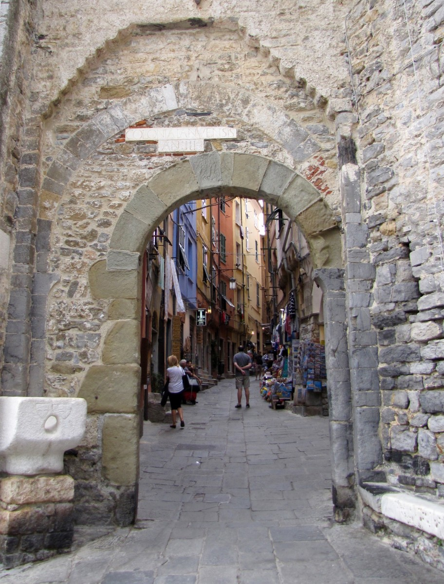 The Gate to Medieval Porto Venere.