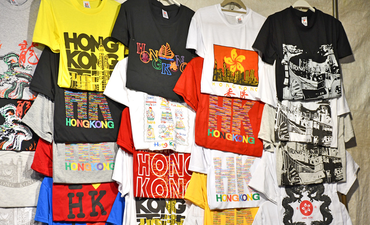 Hong Kong night markets are the best places to get one's I Love Hong Kong tee, if one's bargaining skills are exemplary. The same goes for all sorts of apparel and accessories.