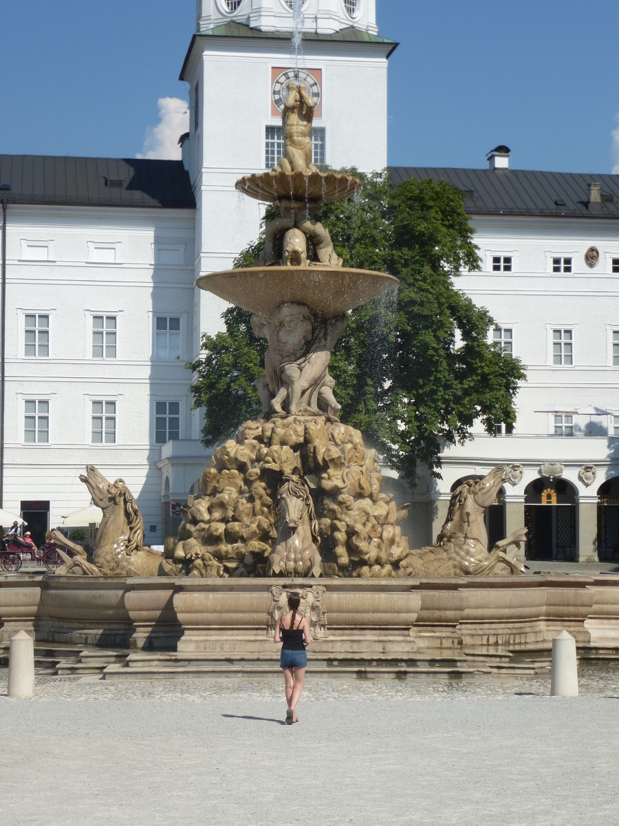 "I had only one thing in mind when looking for a hostel in Salzburg, Austria and that was being within walking distance to as many items on my ""I saw this in The Sound of Music"" list."