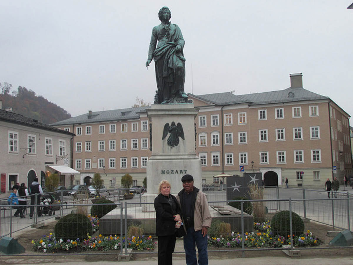 Statue of Mozart Personal photo REK