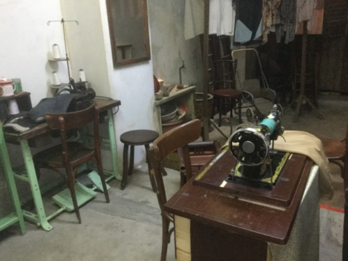 The Tailor's Treadle Sewing Machine