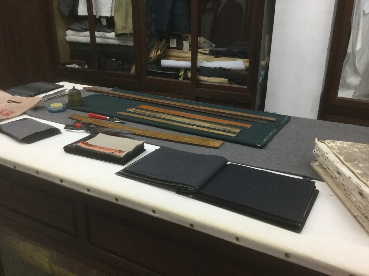 The Tailor's Cutting Table