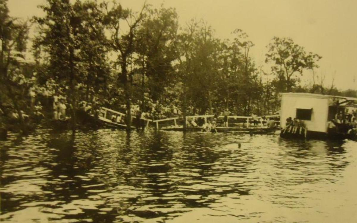 Wister Lake, 1956