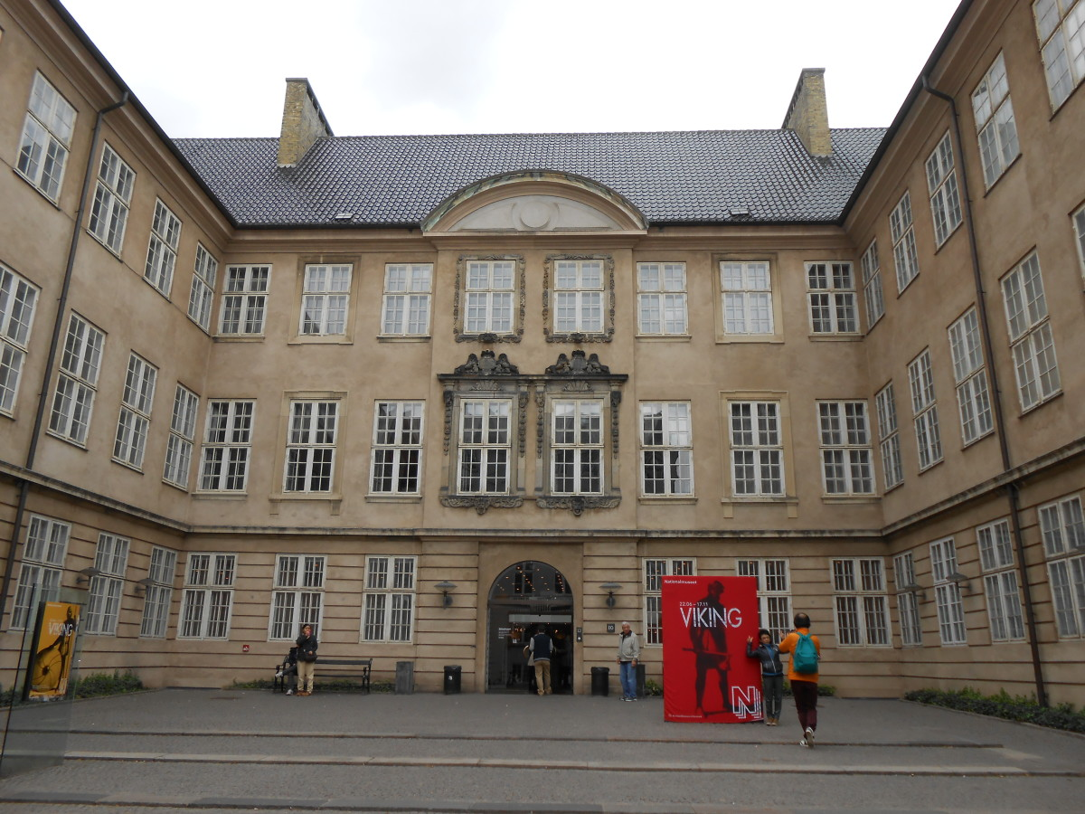 The National Museum which at one point was a palace in Copenhagen