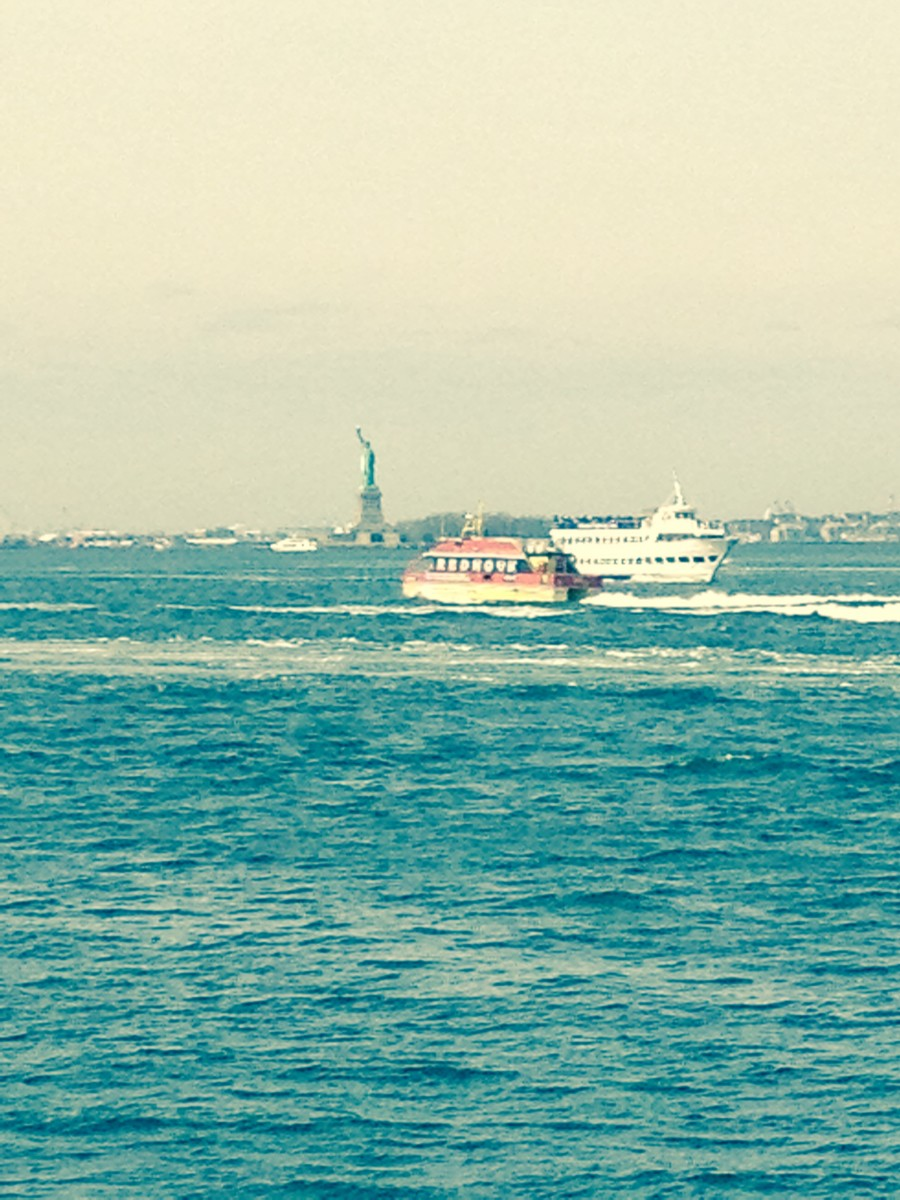 A Statue of Liberty cruise is an exciting thing to do with kids in New York City.
