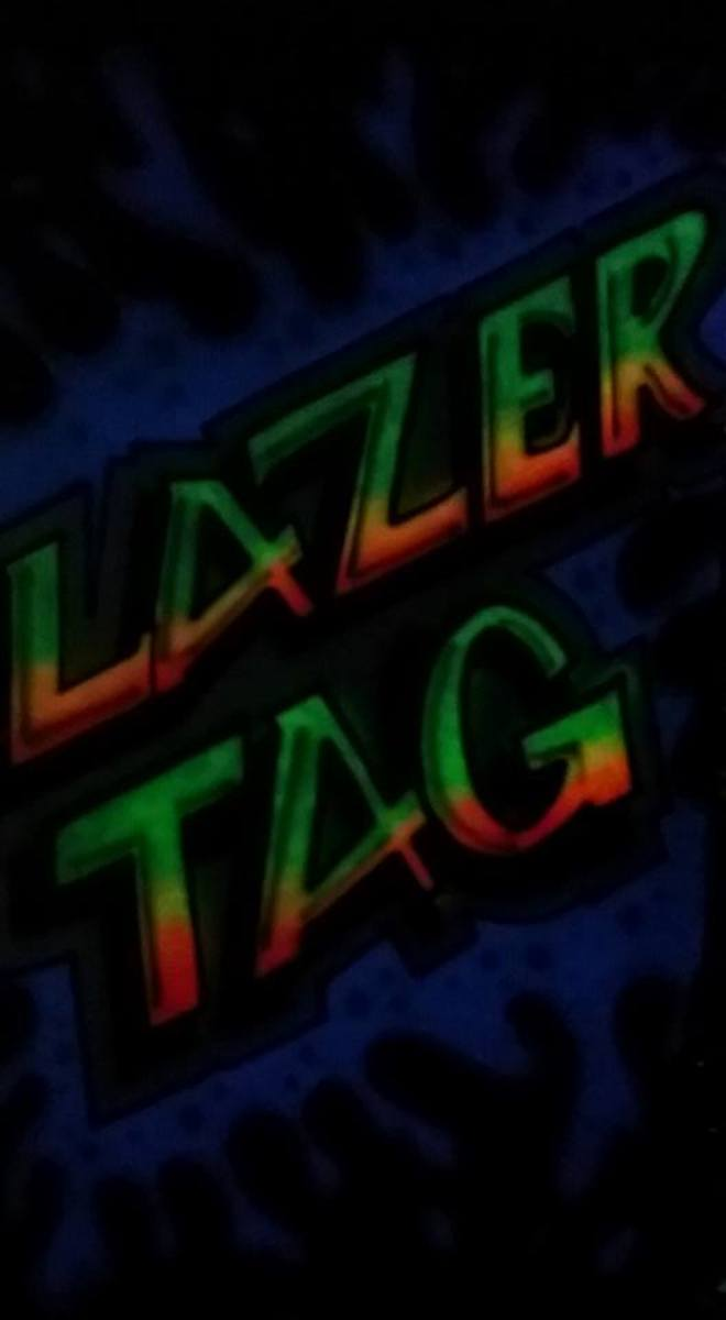 Laser Tag Airbrush at Strike-a-Lot Lanes in Poteau