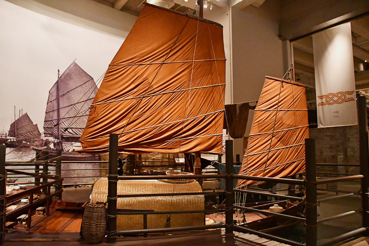 This gallery explains why the Chinese Junk is a symbol of Hong Kong.