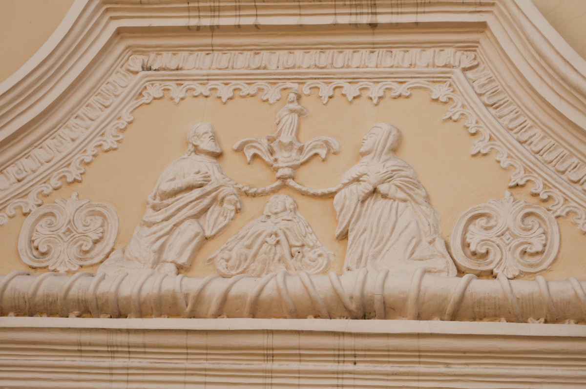 Outside Wall Relief