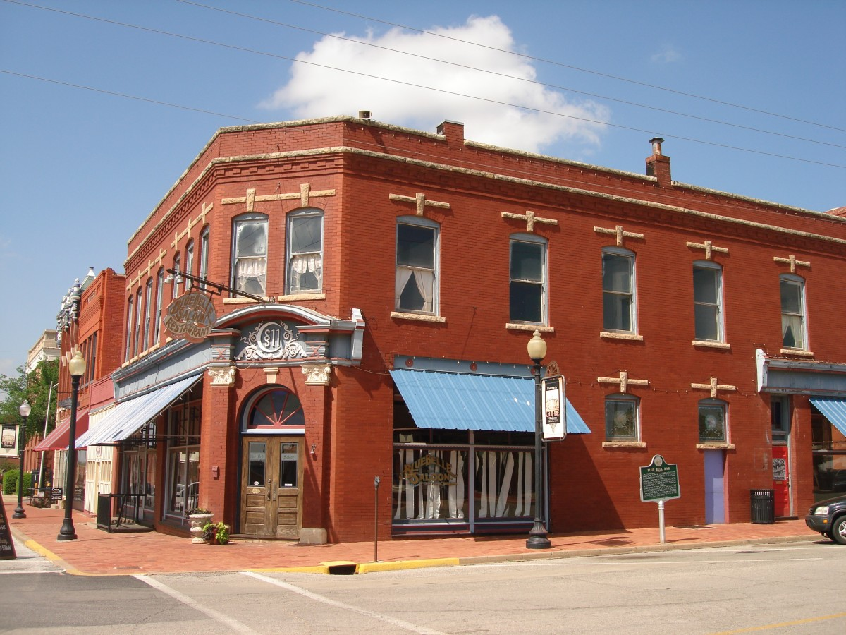 The Blue Belle Saloon in Guthrie