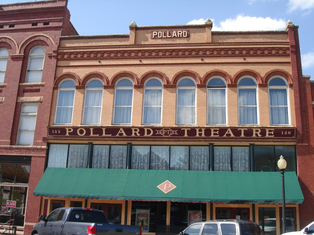 The Pollard Theater in Guthrie