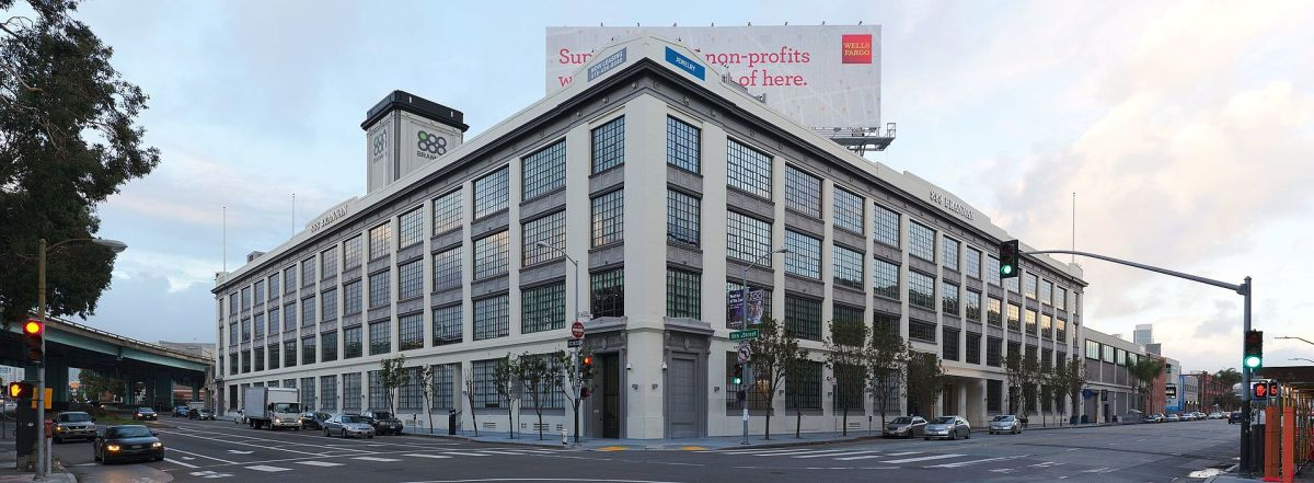 Airbnb's HQ in San Francisco. The idea for the company came when Brian Chesky and Joe Gebbia were struggling to pay the rent for their loft apartment and they decided to put an air mattress in their living room and rent it out as a bed and breakfast.