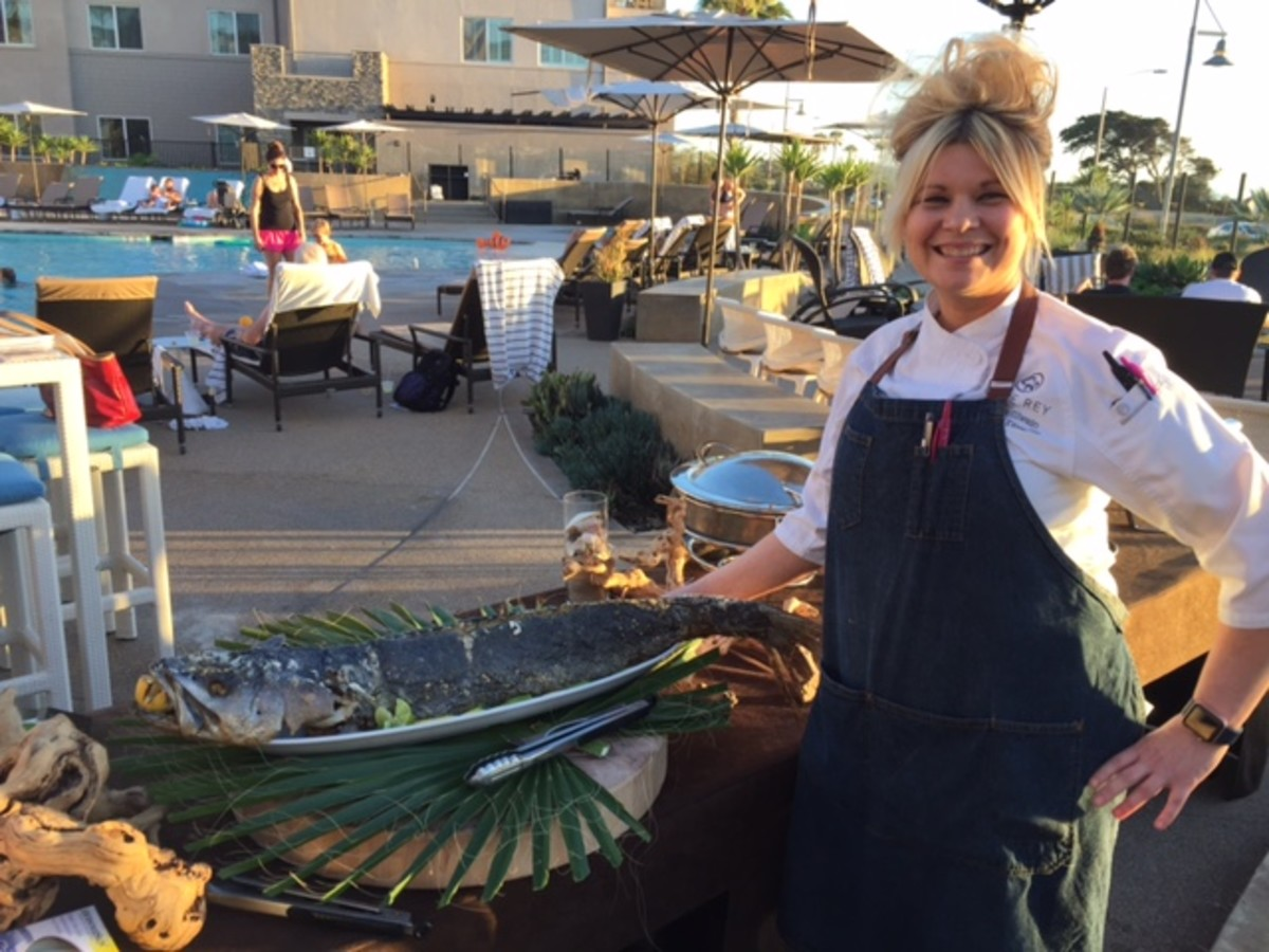 Executive Chef and Culinary Director, Teri McIllwain at Chandler's.