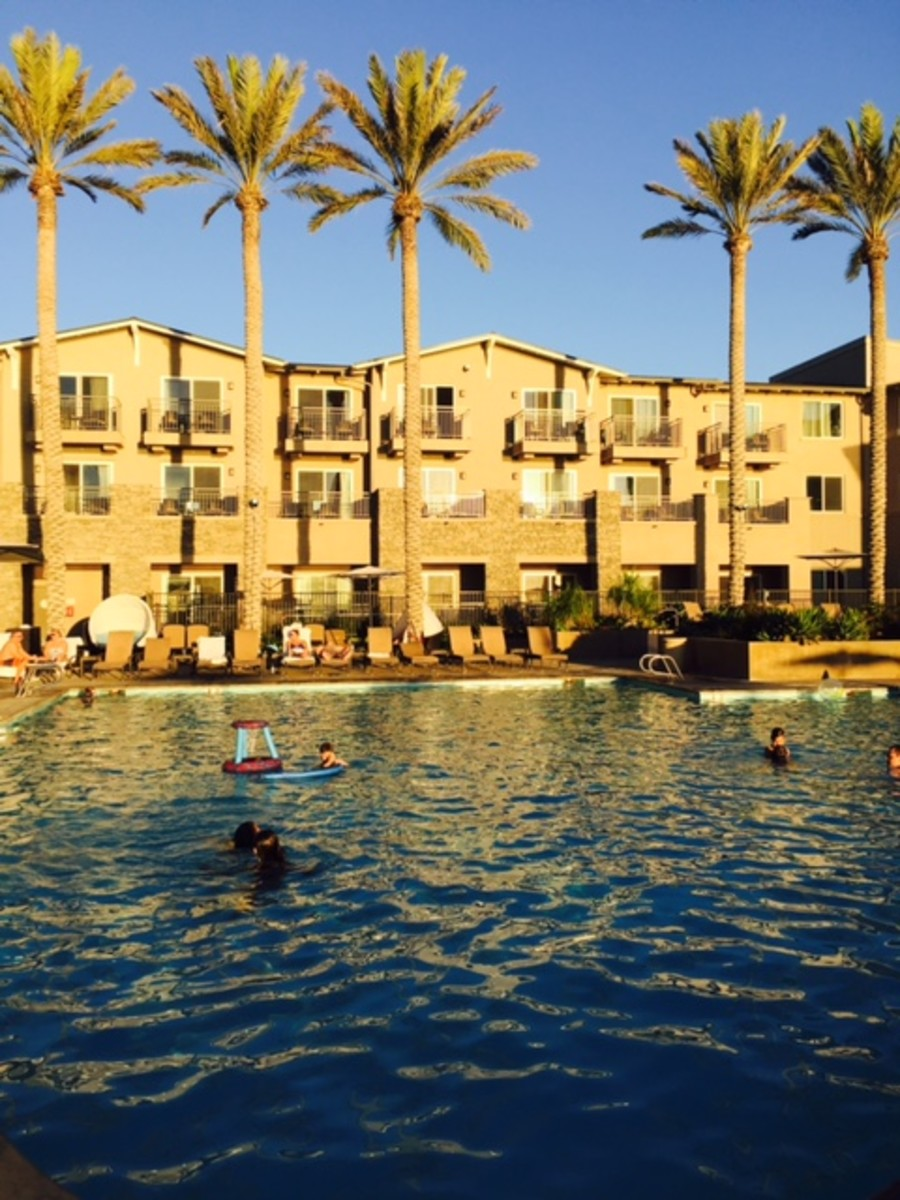 The Extra Large Pool is a Favorite Spot at the Cape Rey.