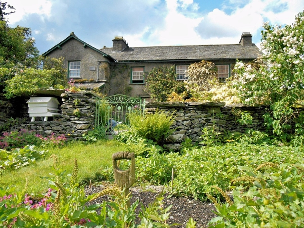Hilltop House, Sawrey, Cumbria. The home of Beatrix Potter (Mrs Hellis) and her husband.