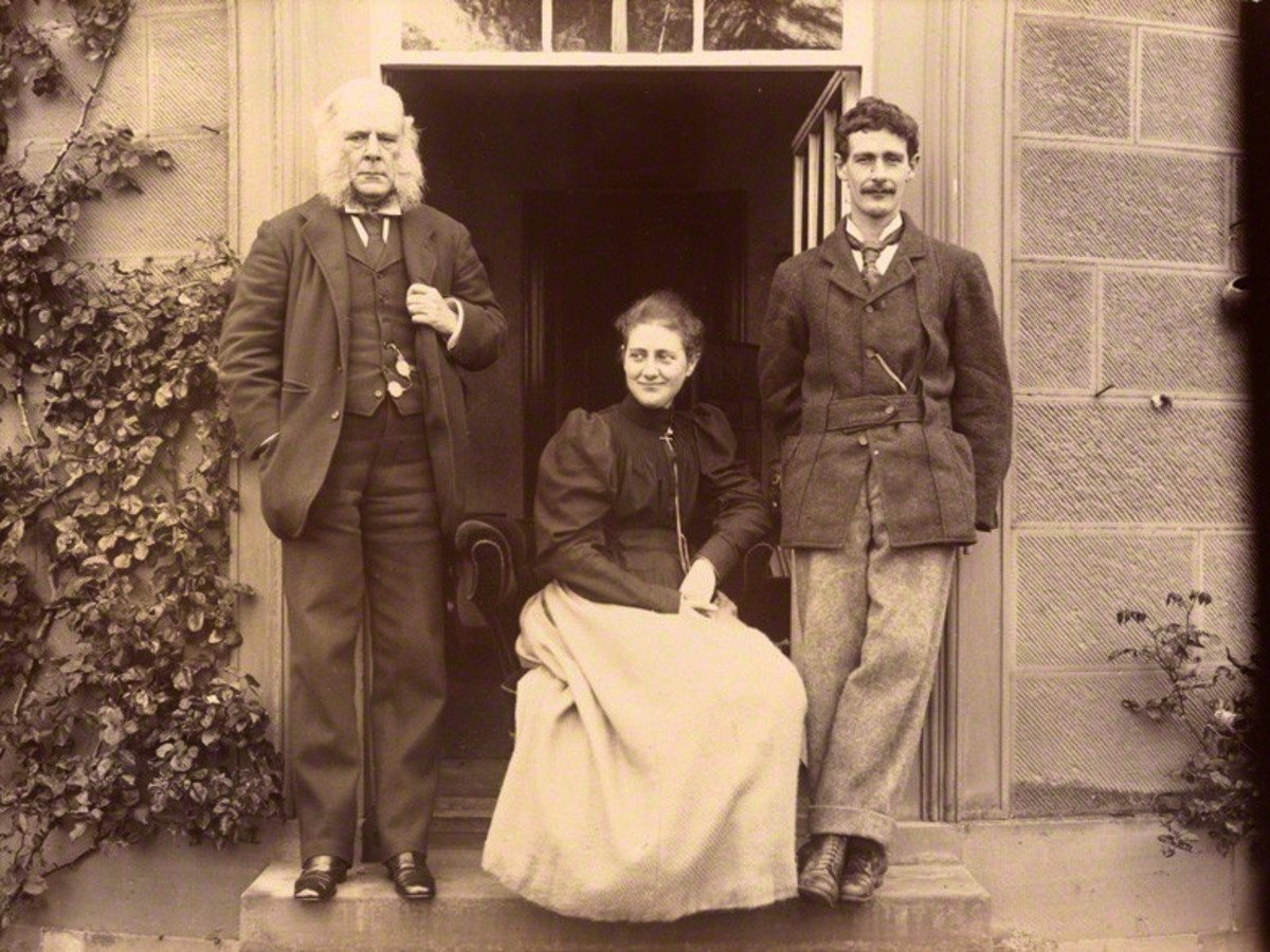 Rupert Potter, Beatrix Potter and Betram Potter