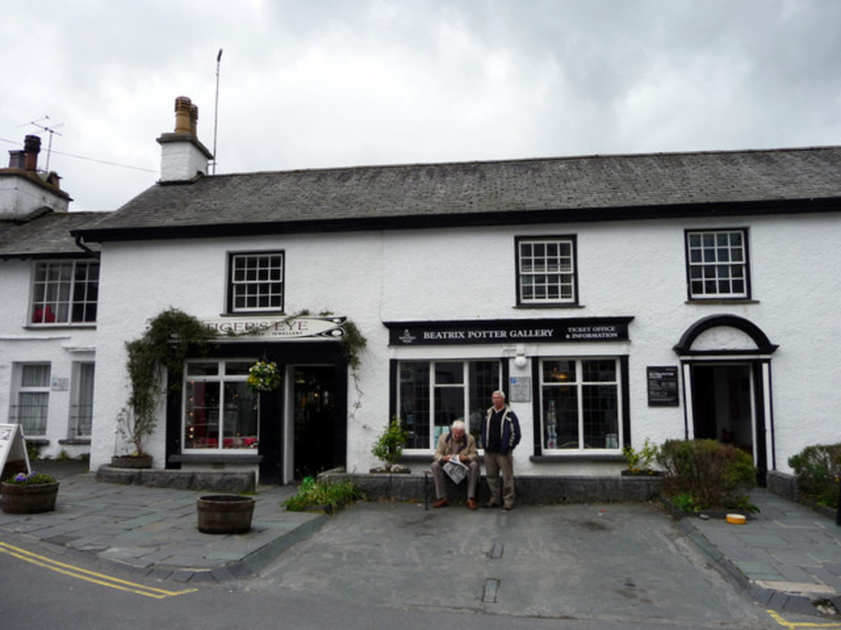 Beatrix Potter Gallery, Hawkshead