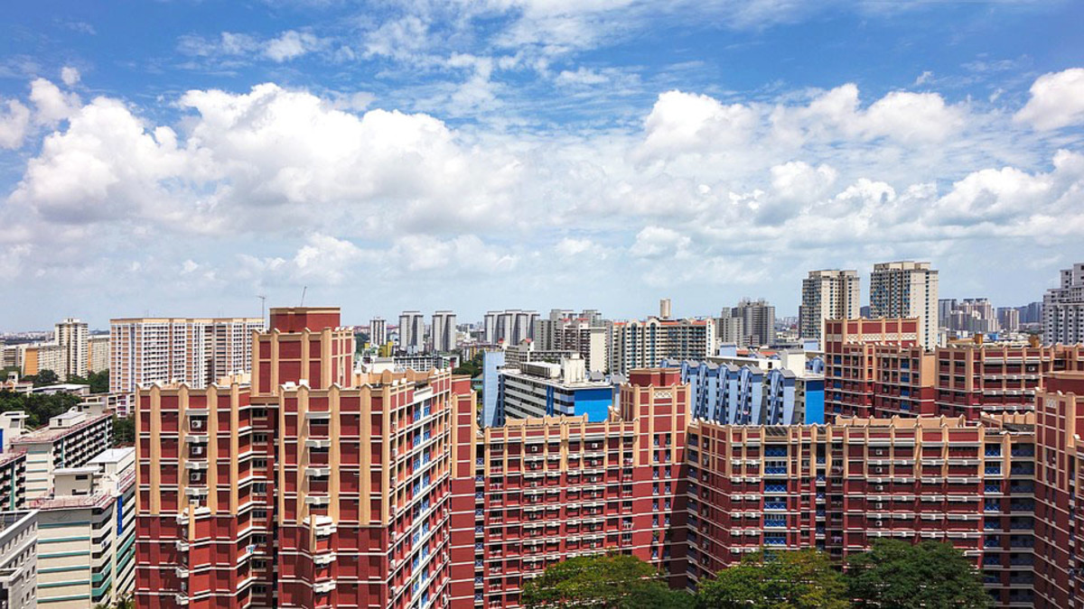Toa Payoh HDB Estate. Meticulously maintained, the dense blocks within each HDB estate provide for great selfie opportunities.