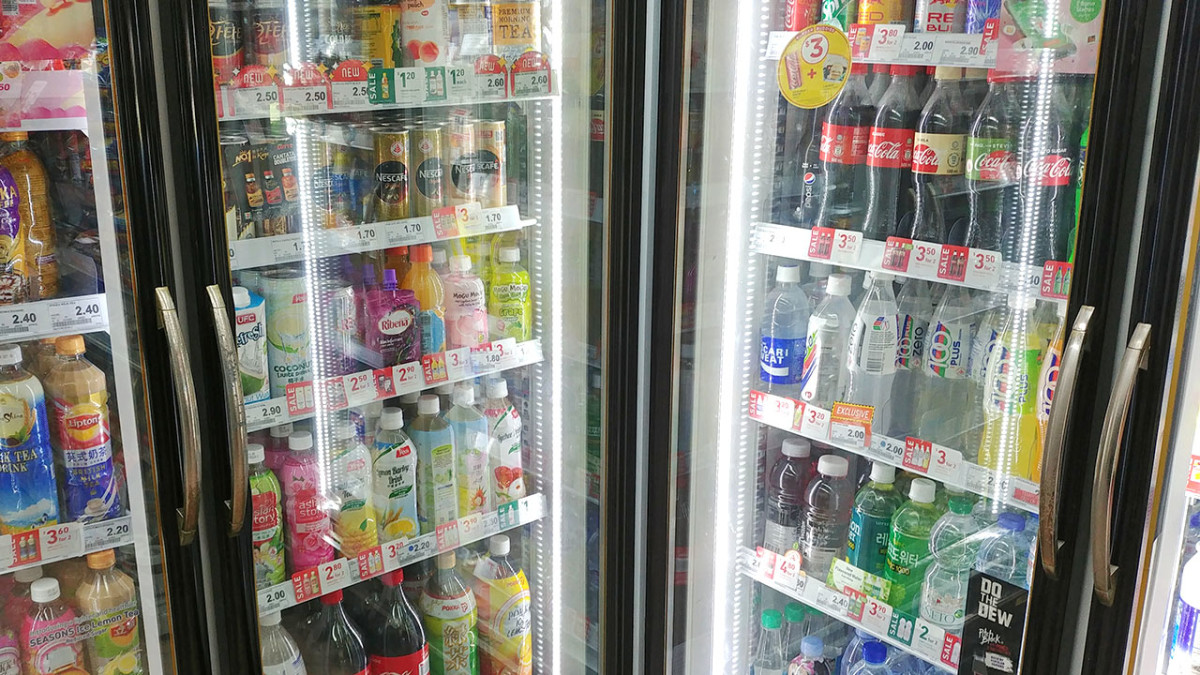 If plain water isn't to your taste, convenient stores are everywhere and they sell all sorts of drinks.